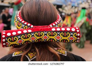 beautiful dayak beads