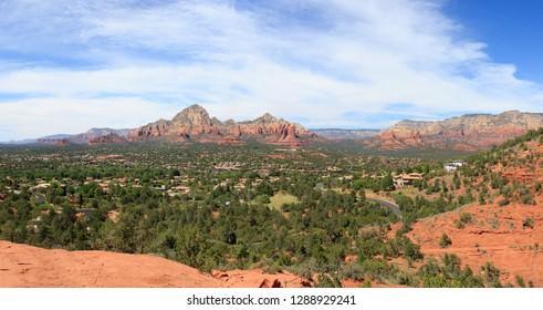 Beautiful Daytime Scenery of Sedona, Arizona