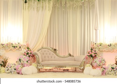 Marriage stage stock images royalty free images vectors beautiful decoration setup for wedding ceremony junglespirit Gallery
