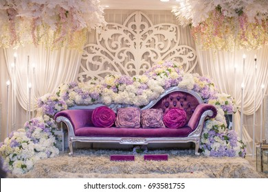 Wedding stage images stock photos vectors shutterstock beautiful decoration wedding ceremony junglespirit Choice Image