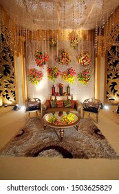 The Beautiful Decorations cultural program, Wedding Decorations, props, candlelight of Bangladesh.