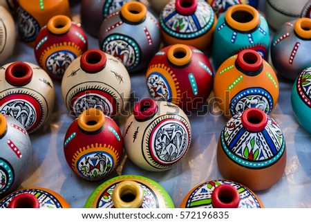 Beautiful Decorative Items Meant Interior Decoration Stock Photo