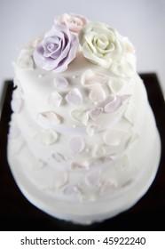 Beautiful decorative wedding cake