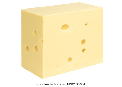 Beautiful and delicious piece of Maasdam cheese