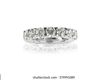 Beautiful Diamond Wedding Anniversary Band eternity Ring