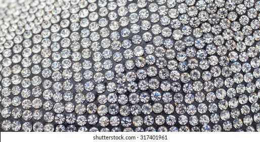 Beautiful diamonds background crystal swarovski