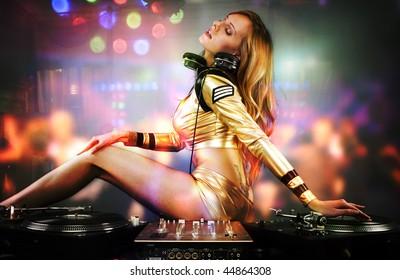 Dj Dance Club Images, Stock Photos & Vectors | Shutterstock