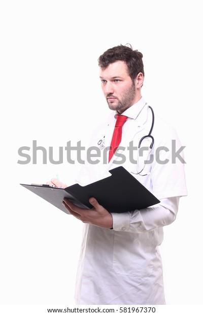 Beautiful doctor