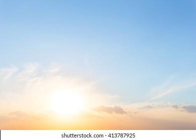 beautiful dramatic sunset bsckground