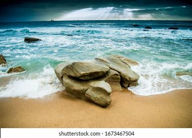 Beautiful Durban Beach, South Africa