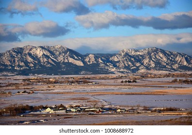 of view Broomfield mountains colorado