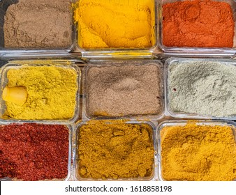 beautiful eater of Georgian markets - Shutterstock ID 1618858198