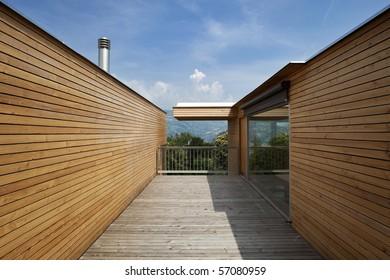 beautiful ecologic house, outdoors