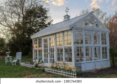 Beautiful Edwardian Style Garden and Greenhouse