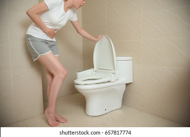 Diarrhea In The Toilet