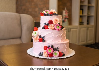 Awesome Three Tier Cake Images Stock Photos Vectors Shutterstock Funny Birthday Cards Online Hendilapandamsfinfo