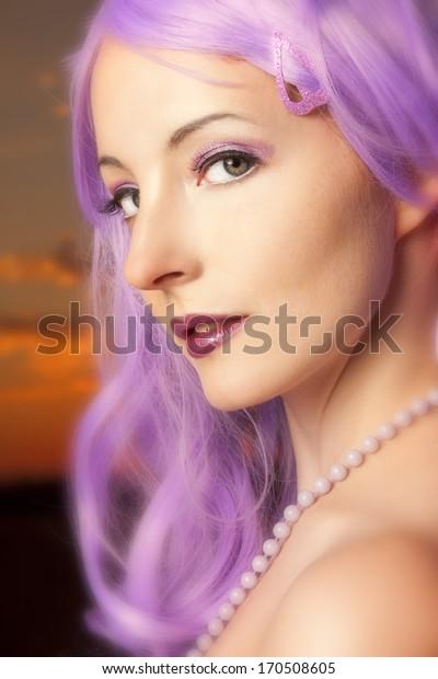 Beautiful, elegant woman