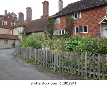 Beautiful English architecture in West Sussex, England.