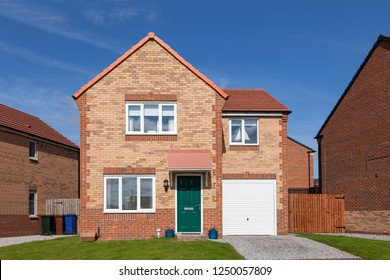 Beautiful english house with green door
