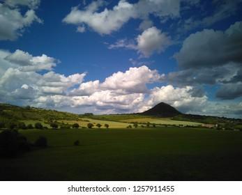 Beautiful European landscape