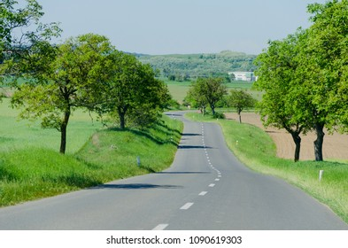 Beautiful european road
