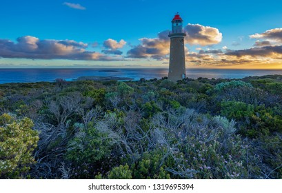 Beautiful evening light at Cape Du Couedic Lighthouse.Flinders Chase National Park,Kangaroo Island South Australia.