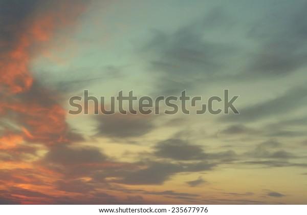 beautiful-evening-sky-clouds-600w-235677