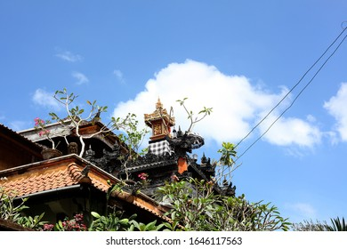 Beautiful exotic roof tops in Bali.
