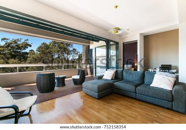 Beautiful Expensive Living Room Exquisite Furniture Stock ...