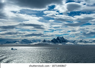 The beautiful extreme terrain on Antarctica.
