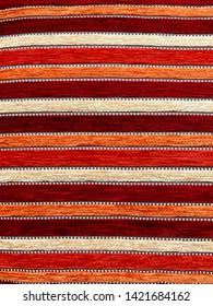 Beautiful Fabric Pattern close up
