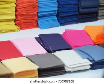 Beautiful fabrics texture