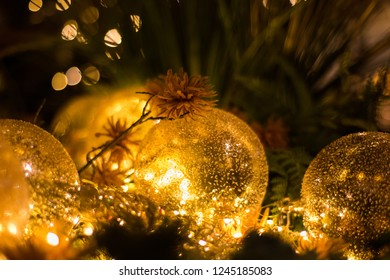 Beautiful fairy tale themed christmas decoration for the holiday