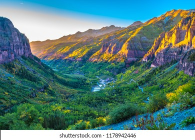 Beautiful Fall Sunset Hike in Telluride Colorado