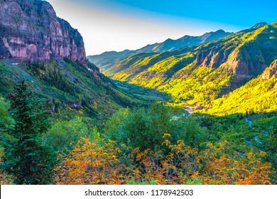 Beautiful Fall Sunset Hike in Telluride Colorado