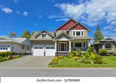 Beautiful family house in British Columbia, Canada.