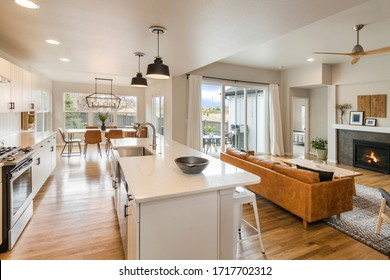 Beautiful Farm House Living Space