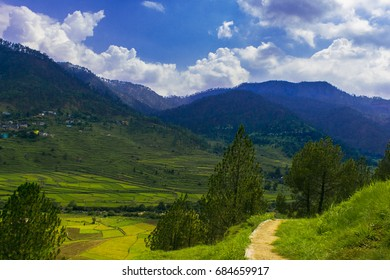 Beautiful Farming View in Uttrakhand