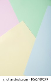 Beautiful and fashionable background for business and study from paper of different colors