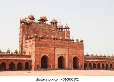 Beautiful Fatehpur Sikri, India. It is a city in Agra district in India.