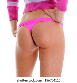 Beautiful female ass, body part