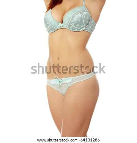 3a1f9699b6f Beautiful Female Body Isolated On White Stock Photo (Edit Now ...