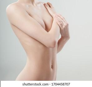 beautiful female figure. perfect skin.