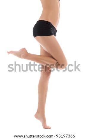 ass Long legged black