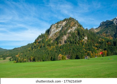 Beautiful fields and meadows of Bavarian Alps, Germany - Shutterstock ID 1776216569