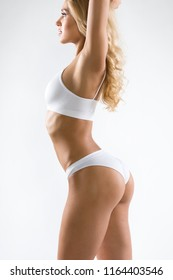 Beautiful fitness woman with a perfect body