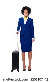 Beautiful flight attendant