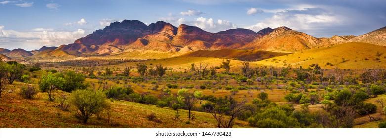 Beautiful Flinders Ranges in South Australia