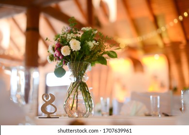 Beautiful floral table decoration for a special occasion