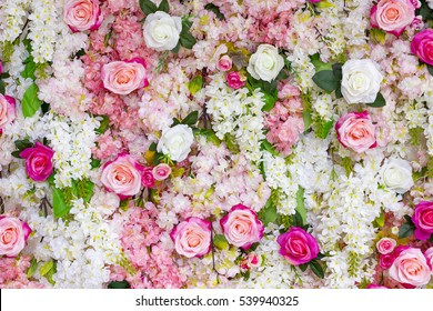 beautiful flower decoration background